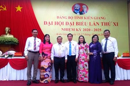 Tổ chức Công đoàn có 7 đại biểu dự Đại hội Đảng bộ tỉnh Kiên Giang
