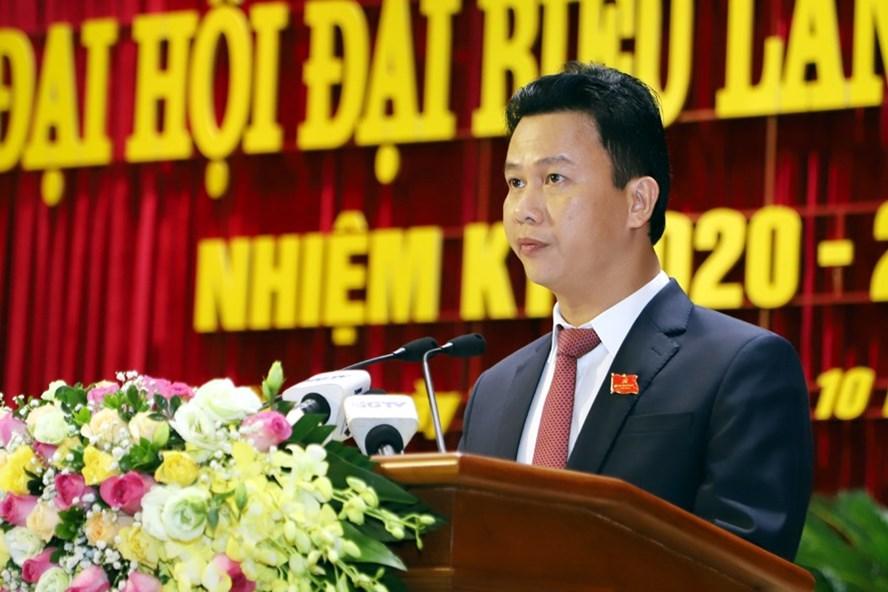 Ông Đặng Quốc Khánh tái đắc cử Bí thư Tỉnh uỷ Hà Giang với số phiếu tuyệt đối. Ảnh: BHG