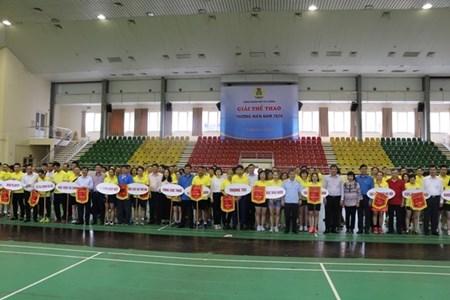 Công đoàn Bộ Tài chính tổ chức giải thể thao thường niên năm 2020