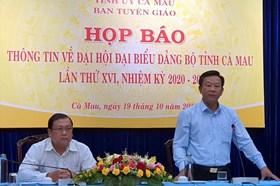 Bí thư Tỉnh ủy Cà Mau Nguyễn Tiến Hải tiếp tục ứng cử tại Đại hội