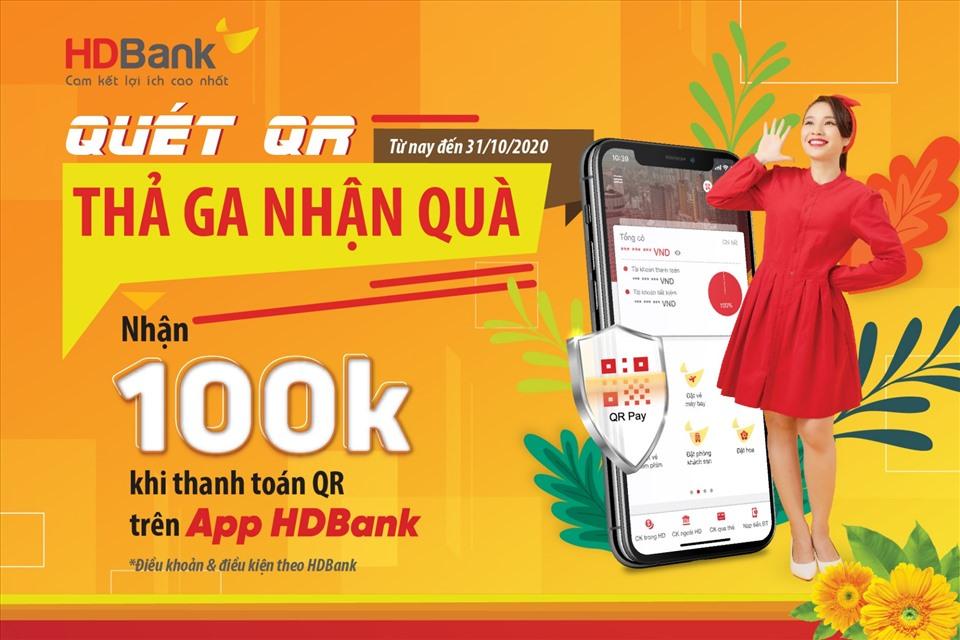 Mừng 20-10: HDBank tặng hàng ngàn phần quà và tiền vào tài khoản