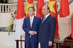 Thông điệp của Thủ tướng Nhật Bản trong chuyến thăm đầu tiên tới Việt Nam