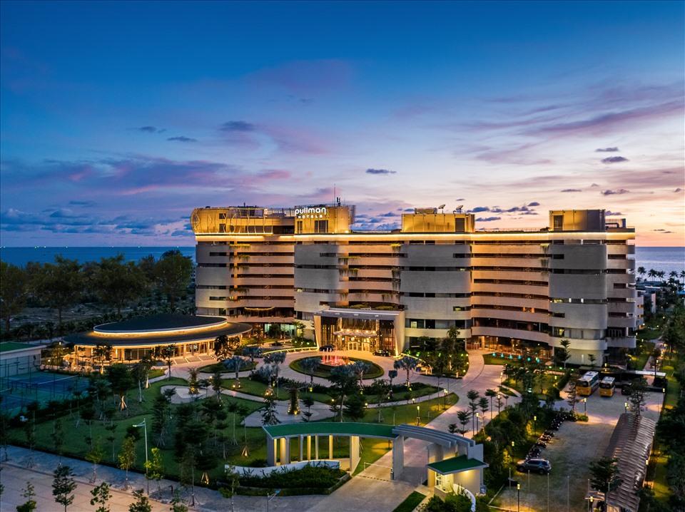 Khu nghỉ dưỡng Pullman Phú Quốc – Dự án thành phần đầu tiên thuộc khu phức hợp Milton Europa Village đã hoàn thiện và được vận hành bởi tập đoàn Accor từ cuối năm 2019. Ảnh: Milton