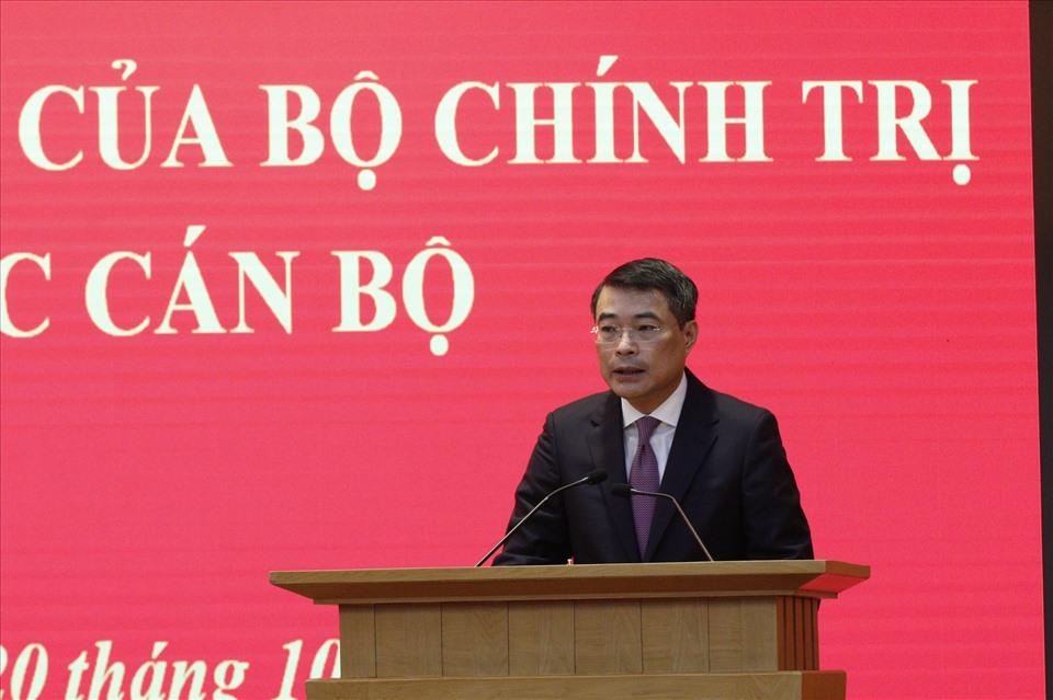 Tân Chánh Văn phòng Trung ương Đảng Lê Minh Hưng. Ảnh Hiền Hoà