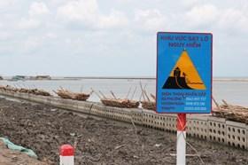 Chi tiết những đoạn đê biển Tây Cà Mau có nguy cơ vỡ bất cứ lúc nào
