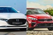 Sedan hạng C hơn 600 triệu đồng: Chọn Mazda 3 hay Kia Cerato?