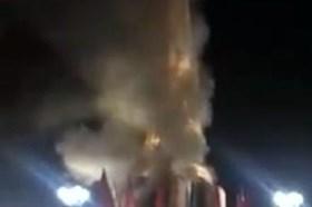 Không có chuyện cháy tượng đài tại Cà Mau