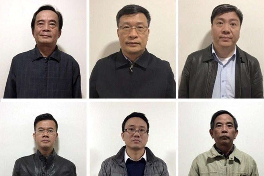 Các bị cáo liên quan đến hành vi tham nhũng xảy ra ở BIDV