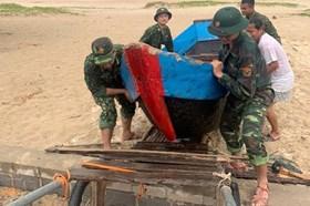 Bão số 9: Người dân Quảng Trị không được ra khỏi nhà từ 21h ngày 27.10