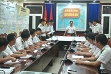 Thành lập Sở chỉ huy phía trước, tìm kiếm cứu nạn 3 tàu cá Bình Định