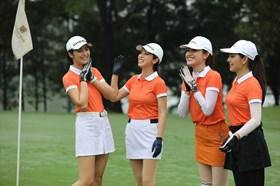 Dàn hoa hậu, người đẹp tranh tài tại giải Tiền Phong Golf Championship 2020