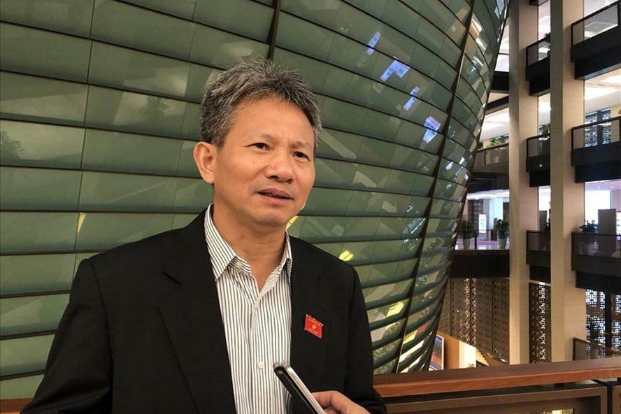 Đại biểu Quốc hội Đỗ Văn Sinh - Uỷ viên Thường trực Uỷ ban Kinh tế của Quốc hội. Ảnh T.Vương