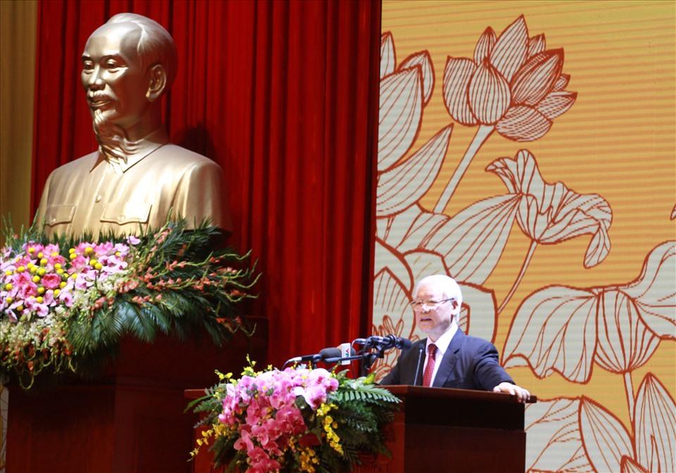 Tổng Bí thư, Chủ tịch nước Nguyễn Phú Trọng. Ảnh: Phạm Đông