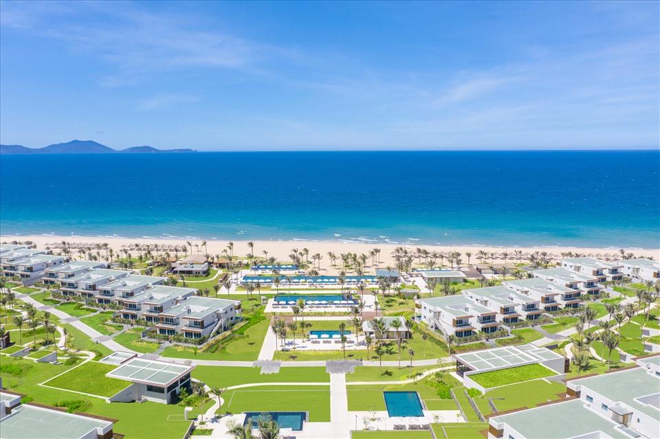 Khu nghỉ dưỡng ALMA tiêu chuẩn 5 sao tọa lạc tại Bãi Dài, Khánh Hòa.
