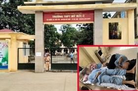 Thông tin thêm vụ 3 học sinh lớp 11 nhập viện vì bị đánh hội đồng
