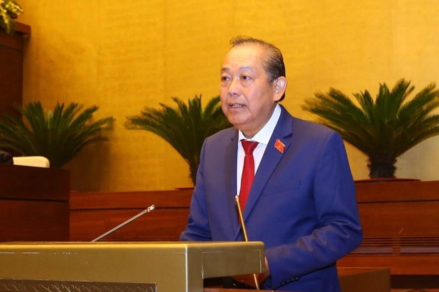 Phó Thủ tướng Thường trực Chính phủ Trương Hòa Bình. Ảnh TTBC