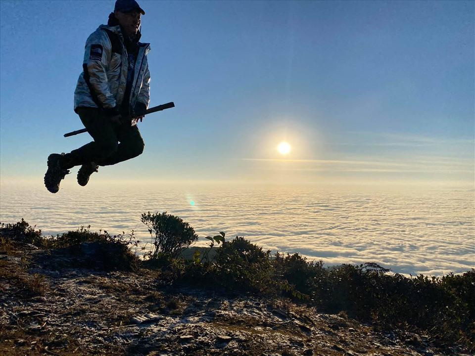Nếu bạn có tình yêu với mây, hãy đến Lảo Thẩn vào những tháng mùa thu – đông ( từ tháng 10 đến tháng 3 năm sau).  Ảnh: Calvin Pham