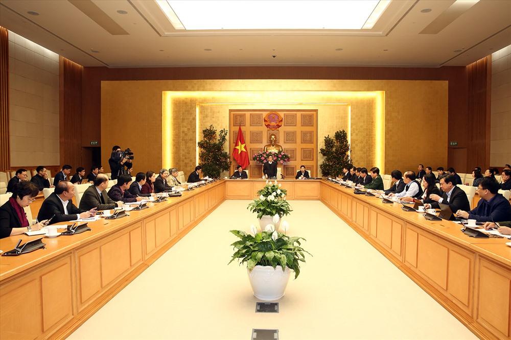 Toàn cảnh cuộc họp. Ảnh: VGP/Đình Nam