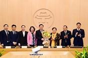 Phê chuẩn kết quả bầu ông Vương Đình Huệ làm Trưởng đoàn ĐBQH Hà Nội