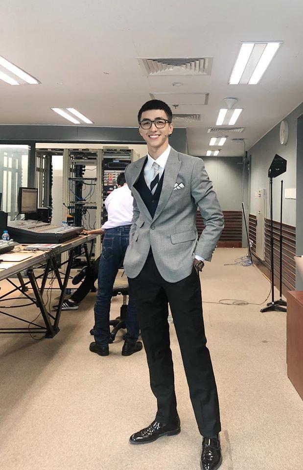 """Diễn viên Bình An cũng tham gia """"bám trend"""". Ảnh: FBNV"""