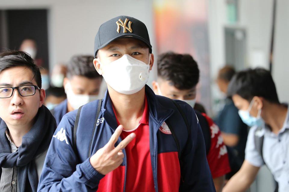 Tiền vệ Võ Huy Toàn đang khao khát khẳng định mình ở đội bóng mới. Ảnh: HCMFC