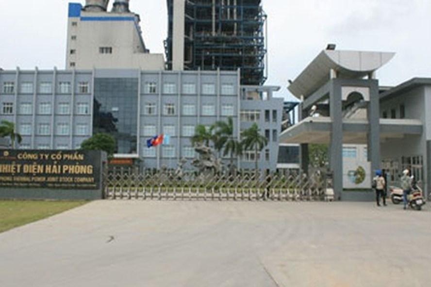 Công ty Nhiệt điện Hải Phòng nơi xảy ra vụ tai nạn khiến 1 người tử vong. Ảnh CTV
