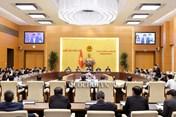 Ủy ban Thường vụ Quốc hội ra các Nghị quyết về nhân sự