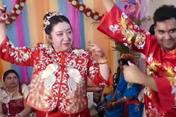 Tình yêu thời nCoV: Cô dâu Trung Quốc quyết tổ chức hôn lễ với chú rể Ấn Độ