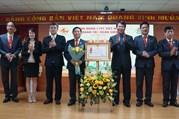 Công đoàn Tập đoàn Cienco4 đón nhận Huân chương Lao động Hạng Ba