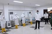 Indonesia chuyển đổi nhiều cơ sở thành nơi phục vụ chống dịch COVID-19