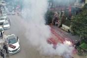 Tin Hà Nội 24h: Đã lập biên bản vụ đốt pháo trong đám cưới ở Sóc Sơn