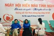 Lãnh đạo Tổng Công ty Đường sẳt Việt Nam tham gia hiến máu tình nguyện