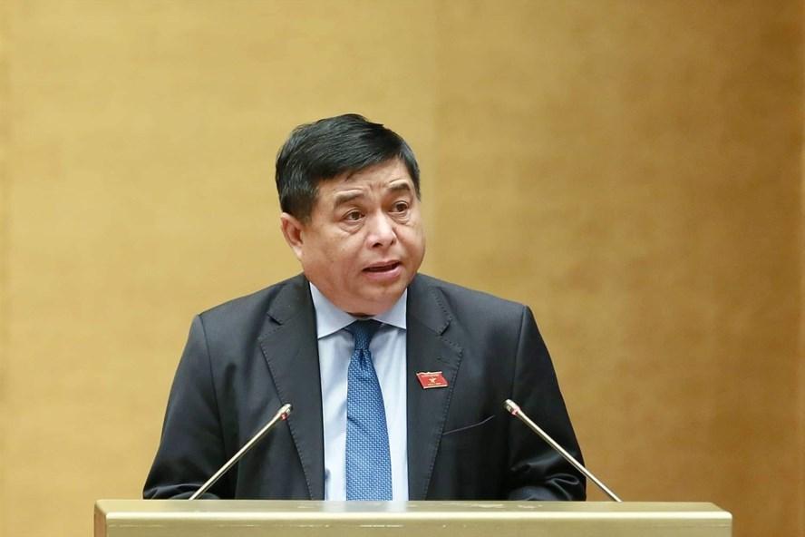 Bộ trưởng Bộ Kế hoạch và Đầu tư Nguyễn Chí Dũng. Ảnh: VGP/Nhật Bắc