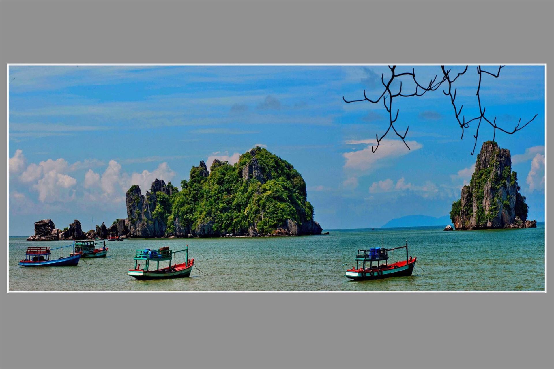 Đảo xa của Đặng Văn Trân