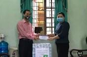 Công đoàn huyện Thường Tín hỗ trợ đoàn viên nhiễm COVID-19