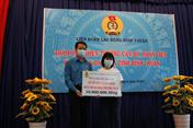 Công đoàn Bình Thuận khen thưởng đoàn viên ở tuyến đầu chống dịch