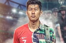 Ảnh chế: Ronaldo khiến fan Juventus câm lặng, Son Heung-min đi lính