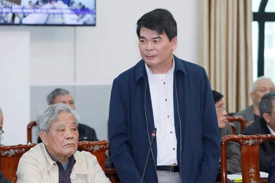 Ông Nguyễn Tiến Dĩnh - Nguyên Thứ trưởng Bộ Nội vụ. Ảnh: MT