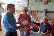 An Giang: Thăm, hỗ trợ gia đình nạn nhân vụ sập công trình ở Đồng Nai