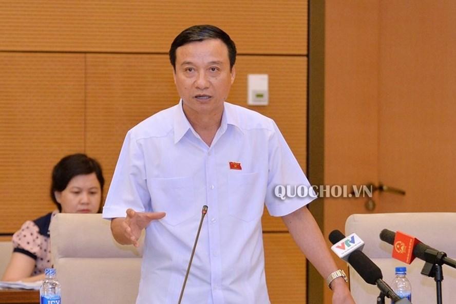 ĐBQH Bùi Văn Xuyền - Uỷ viên Thường trực Uỷ ban Pháp luật của Quốc hội. Ảnh Quốc hội.