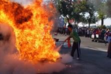 Tưng bừng Hội thi An toàn, vệ sinh lao động tỉnh Tiền Giang 2020