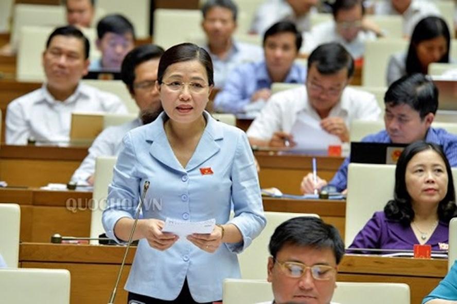 Đại biểu Quốc hội Đỗ Thị Lan - Uỷ viên Thường trực Uỷ ban về Các vấn đề xã hội. Ảnh: Quốc hội