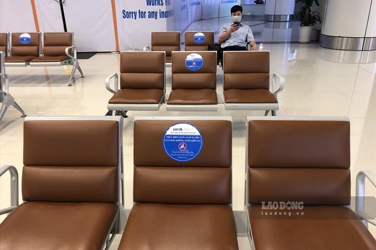 Sân bay thực hiện giãn cách xã hội đảm bảo an toàn cho hành khách