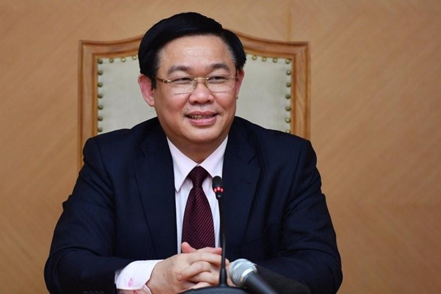 Ông Vương Đình Huệ đã được Bộ Chính trị điều động, phân công giữ chức Bí thư Thành ủy Hà Nội. Ảnh: Quốc hội