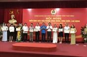 Hàng nghìn đoàn viên, CNLĐ được biểu dương khen thưởng