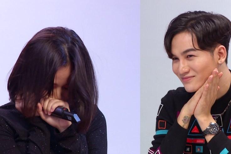 Thành viên nhóm nhạc đông nhất Việt Nam khóc vì bị Ali Hoàng Dương chê