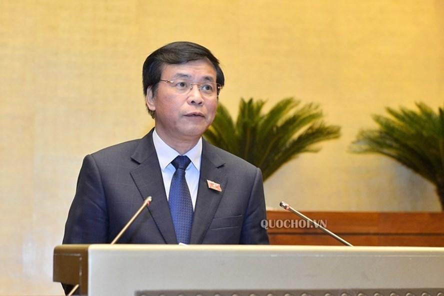 Tổng Thư ký, Chủ nhiệm Văn phòng Quốc hội Nguyễn Hạnh Phúc. Ảnh: Quốc hội