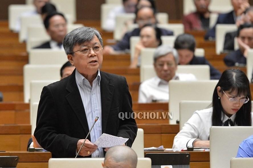 Đại biểu Trương Trọng Nghĩa - Đoàn ĐBQH Tp. Hồ Chí Minh. Ảnh Quochoi.vn