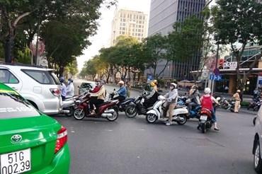 Hàng loạt tuyến đường khu trung tâm TPHCM sẽ cấm xe lưu thông vào ngày 28.6. Ảnh: M.Q