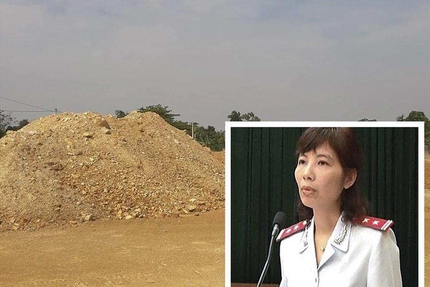 Trưởng đoàn Thanh tra Bộ Xây dựng Nguyễn Thị Kim Anh bị cáo buộc chiếm đoạt 1,3 tỉ đồng. Ảnh: PV.
